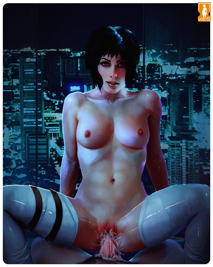 nude shell cosplay the ghost in Five nights at freddy anime