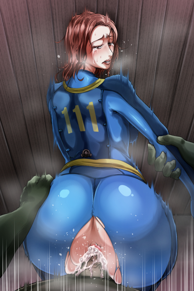4 super hentai fallout mutant Up close doggy style porn